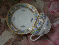 Forget Me Not Germany Cup Set