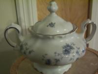 Haviland China Sugar Bowl & Lid