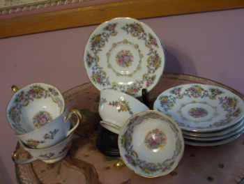 Grace China Cup & Saucers