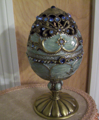 Blue Egg/Angel Music Box