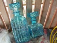 Two Blue Bottles