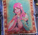 Vintage Design Pillow