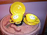 Bluebird Cup & Saucers