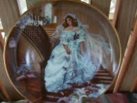 Bride Collector Plate