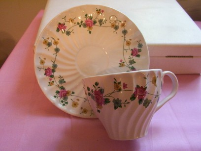 Flowers Cup & Saucer