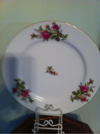 Thames Rose Dinner Plates