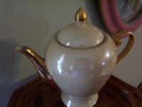 Tea Pot Godinger Irredescent