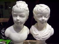 Boy and Girl Bust
