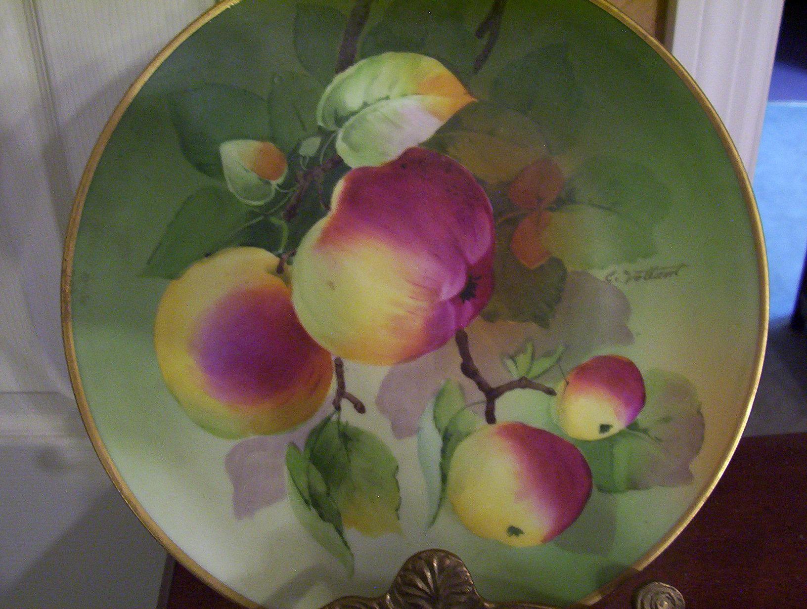 Peachy Fruit Plate