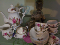 Fifteen Piece Coffee Set